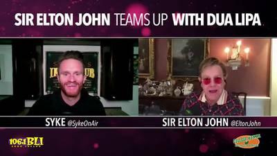 Elton John teams up with Dua Lipa
