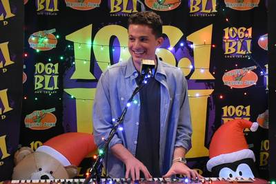 Charlie Puth Christmas Acoustic Cafe