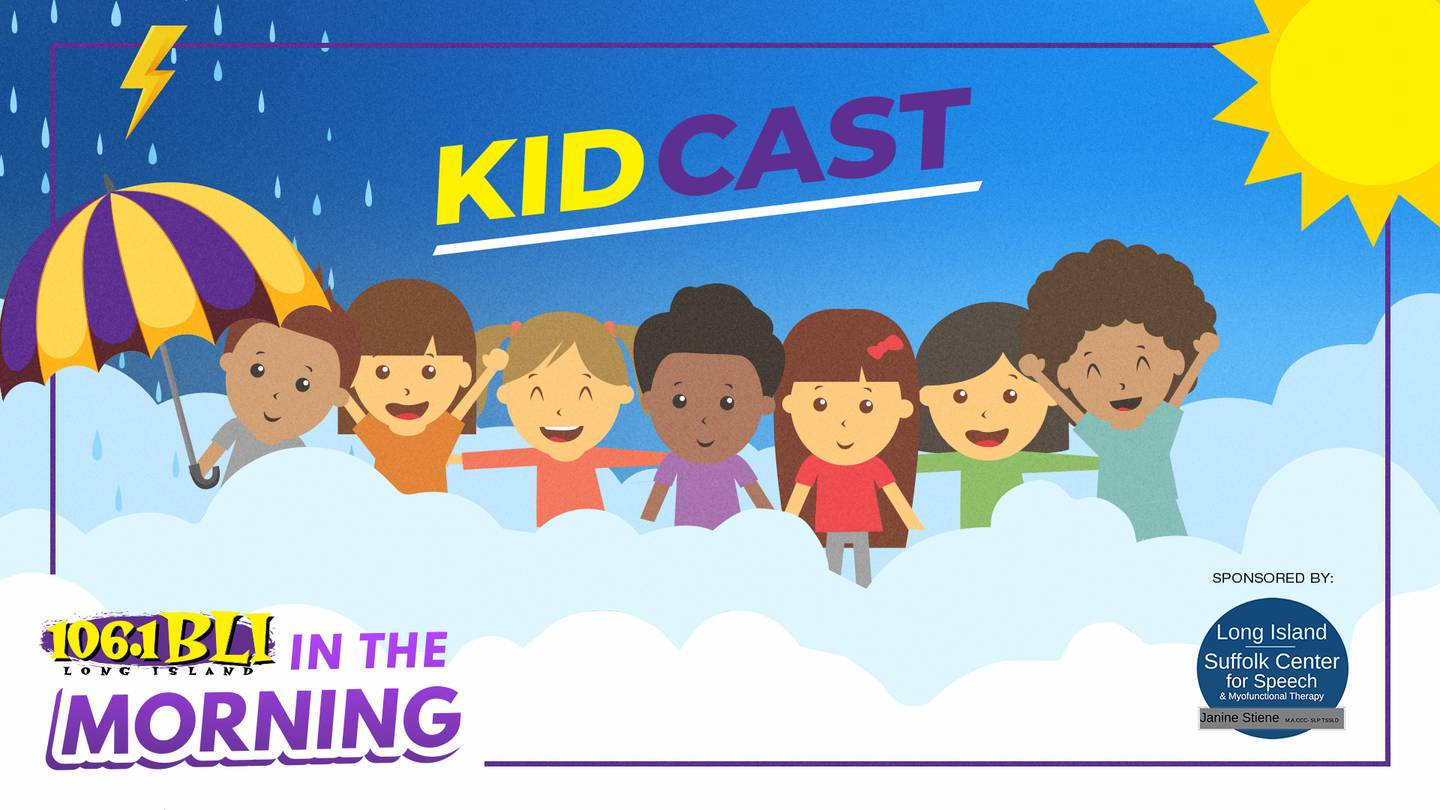 Have Your Child Be A BLI Kidcast Weather Reporter