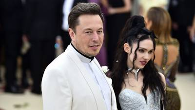 Tesla's Elon Musk, singer Grimes announce they've 'semi-separated'