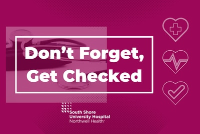 Don't Forget, Get Checked!