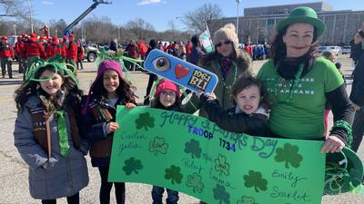 BLI @ Mineola St. Patrick's Day Parade 3/1