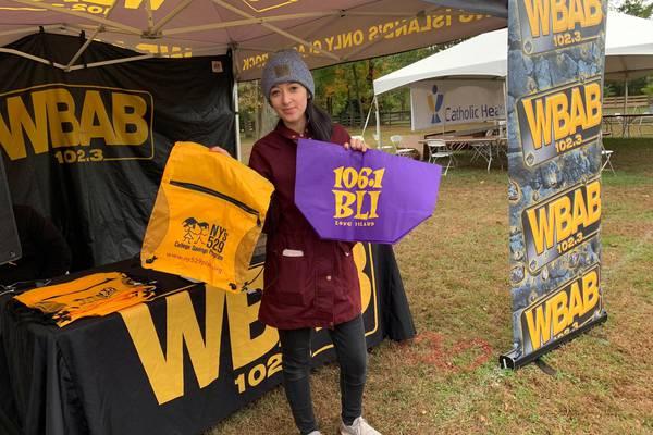 WBAB and WBLI @Suffolk Marathon Freedom Fest 10/24